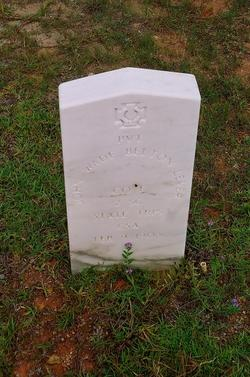 Pvt John Wade Belton Lever