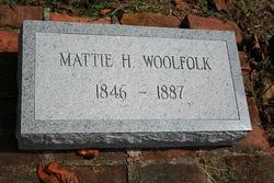 Mattie E <i>Howard</i> Woolfolk