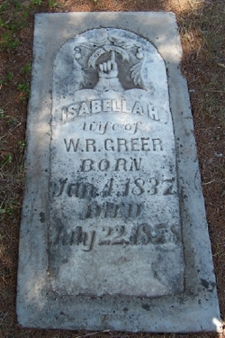 Isabella Hambleton <i>Warren</i> Greer