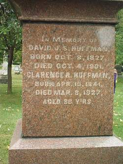 David John Smith Huffman