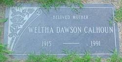 Weltha <i>Dawson</i> Calhoun