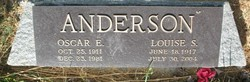 Oscar E Anderson