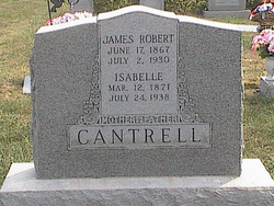 Isabelle Sarah <i>Coots</i> Cantrell