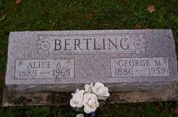 Alice A <i>Cron</i> Bertling