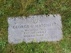 George E Matchett