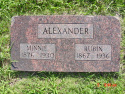 Minnie L. <i>Green</i> Alexander