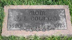 Lottie Agnes <i>Lawrence</i> Colburn