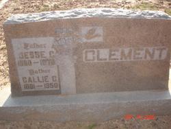Callie C <i>Hardin</i> Clement