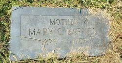 Mary C <i>Snyder</i> Barnes