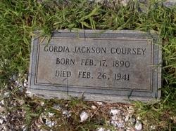 Gordia <i>Jackson</i> Coursey