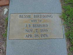 Bessie M <i>Birdsong</i> Benford