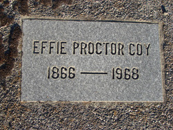 Effie Lenore <i>Proctor</i> Coy