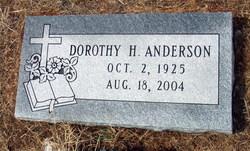 Dorothy <i>Harris</i> Anderson