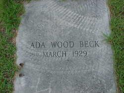 Ada J <i>Wood</i> Beck