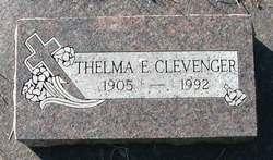 Thelma E <i>Davidson</i> Clevenger