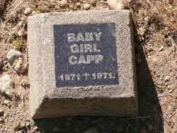 Baby Girl Capp