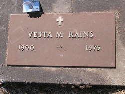 Vesta M. Rains