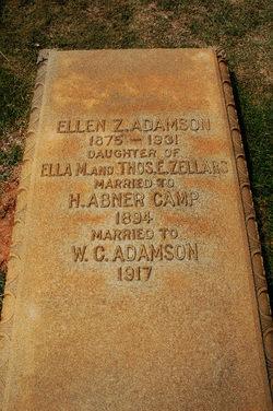 Ellen <i>Zellars</i> Adamson