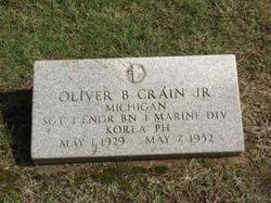 Sgt Oliver Beecher Crain, Jr