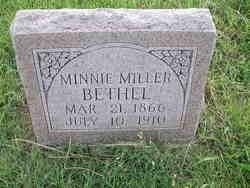 Minnie <i>Miller</i> Bethel