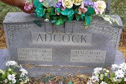 Maggie D Adcock
