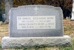 Sarah Frances <i>Dyer</i> Mudd