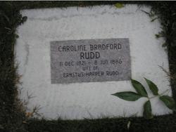 Caroline <i>Bradford</i> Rudd
