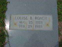 Louise <i>Burgamy</i> Roach