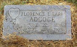 Florence I. <i>Earp</i> Adcock