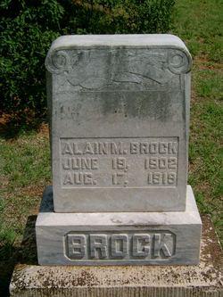 Alain M. Brock