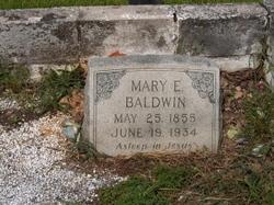 Mary Etta <i>Gann</i> Baldwin