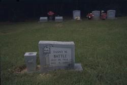 Fanny M. Battle