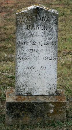 Christiana E Baker