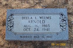 Deela L <i>Weems</i> Arnold