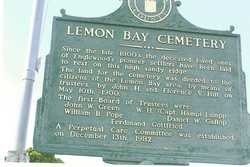Lemon Bay Historical Cemetery