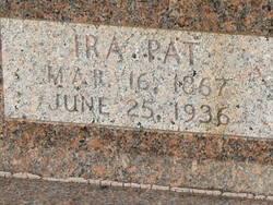 Ira Patrick Ira Pat Allday