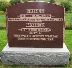 Mary Esther <i>Tucker</i> Yerion
