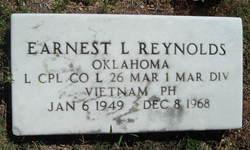 LCpl Earnest L. Reynolds