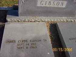 James Clyde Gibson, Sr