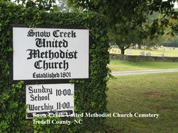 Snow Creek Methodist Church Cemetery