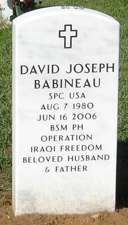 Spec David Joseph Babineau