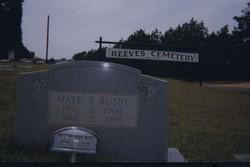 Maye S. Busby