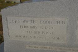 Dr John Walter Good