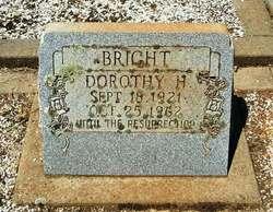 Dorothy Louise <i>Harrison</i> Bright