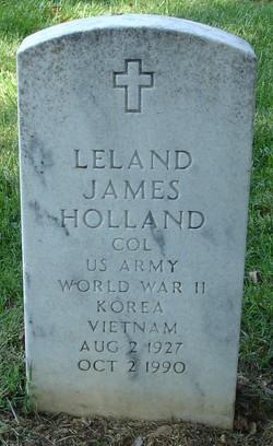 Col Leland James Holland