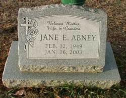 Jane Elizabeth Abney