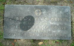 Clarence Otto Griner