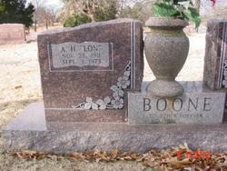 Alonzo H. Lon Boone, Jr