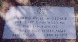 Pvt Gabriel William George