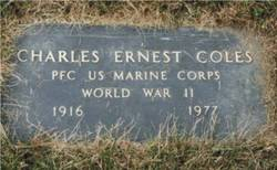 Charles Ernest Coles